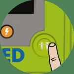 Zoll AED 3 Ablauf